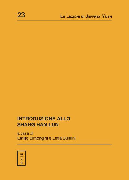 23 - Lezioni di Jeffrey Yuen - Introduzione allo Shang Han Lun