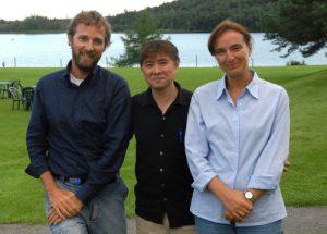 Il Mestro Jeffrey Yuen con il dr. Emilio Simongini e la dr.ssa Leda Bultrini